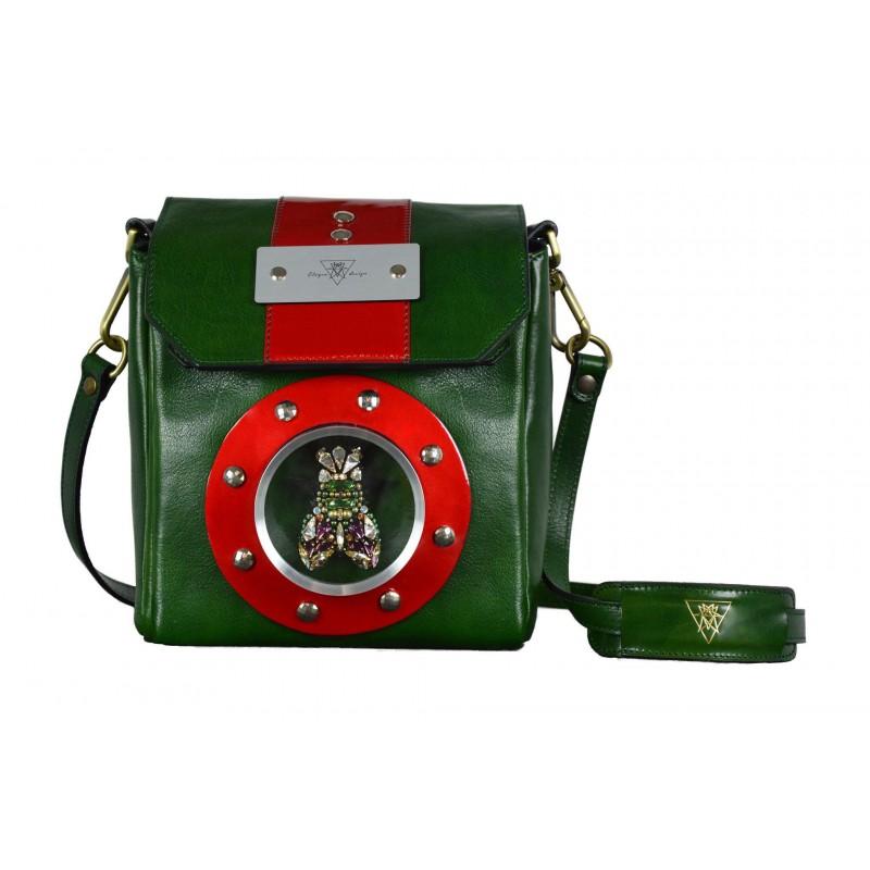 """Leather Handbag """"Royal Fly"""""""