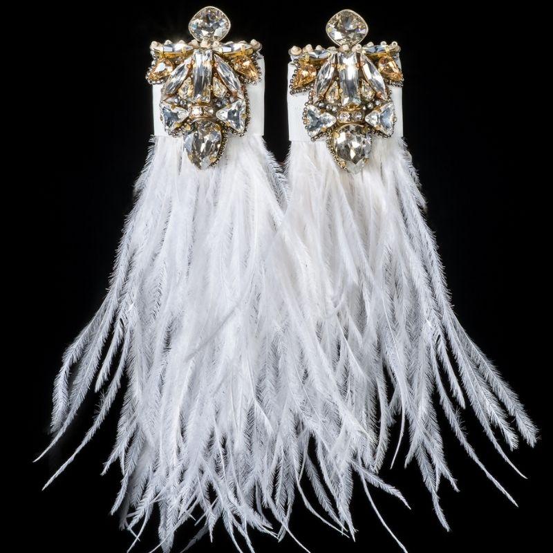 """Earrings """"White Dream"""""""