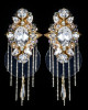 """Earrings """"White Ice Queens"""""""